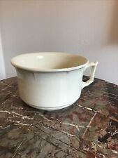 More details for new hall hanley  pottery chamber pot planter handled ceramic