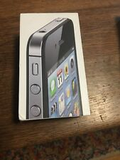 Apple iPhone 4 Black Smartphone~Excellent Condition pass code locked. A349.