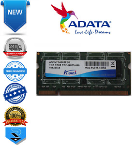 ADATA 1GB DDR2 800MHz PC2-6400S DIMM ADOVF1A083FEG 1RX8 Laptop Memory OEM