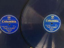 "MARCEL MAAS Bach Toccata & Fugue in C Minor COLUMBIA 68131-68132 blue wax 12"" 78"