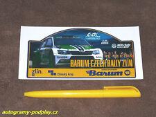 Sticker/Aufkleber - 2015 Barum Czech Rally SKODA Fabia R5