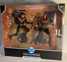 McFarlane Toys DC Multiverse 2-pack Action Figure Set NIGHTWING & RED HOOD NEW