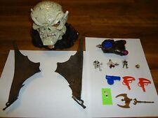 Mighty Max Mega Heads Assaults Skull Master Complete Set Playset Skullmaster