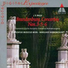 Bach Brandenburgische Konzerte 3, 5 & 6 Nikolaus Harnoncourt und Concentus music