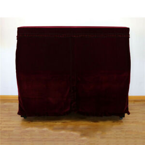 Piano Anti-Dust Cover Dust Upright Cloth Elegant Towel for 60x46x12inch Piano