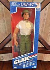 "Grunt Action Figure G.I. Joe Hall of Fame 12"" Hasbro NIP"