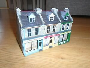 Scenix Resin Terraced Houses for Hornby OO Gauge Train Sets