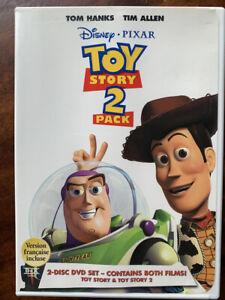 Toy Story and Toy Story 2 DVD Box Set Disney Pixar Movie Double Bill Region 1