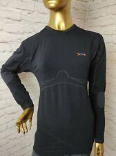 XBionic Unisex Compression Cycle Wear Long Sleeve T-Shirt Stretch Size L/XL