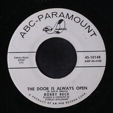BOBBY BECK: The Door Is Always Open 45 (dj) Oldies