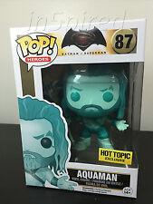 Funko POP! x Batman v Superman - Aquaman #87 - New & Rare - Hot Topic Exclusive!