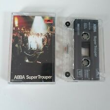 ABBA SUPER TROUPER CASSETTE TAPE POLYDOR 1995