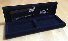 MONTBLANC MONT BLANC Pen Box w/ Guarantee Noblesse Starwalker Meisterstuck OEM