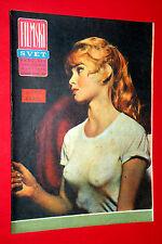 SEXY BRIGITTE BARDOT PETER O'TOOLE COVER 1964 UNIQUE RARE EXYU MOVIE MAGAZINE #2