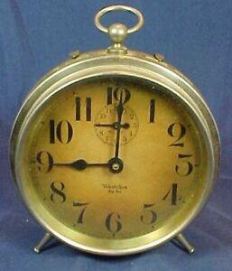 Vintage Westclox Big Ben Clock Alarm Large Size