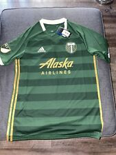Adidas Portland Timbers Home Jersey Mens Large