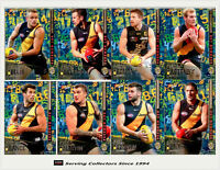 2016 Select AFL Footy Stars Trading Cards Hot Number Full Team Set (8)-Richmond