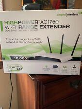 Amped Wireless High Power 800mW AC1750 Wi-Fi Range Extender RE1750A