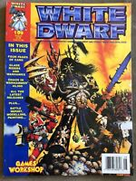 White Dwarf Magazine Games Workshop #199 August 1996 Chaos in Warhammer 4K