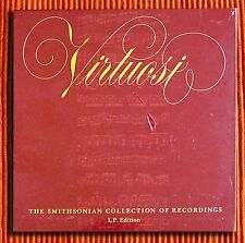 VARIOUS - VIRTUOSI  THE SMITHSONIAN COLLECTION OF RECORDINGS 7LP BOX SET SEALED