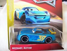 Disney Pixar Cars - Michael Rotor - 2019 release - Next-Gen Piston Cup Racers