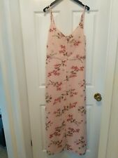 Asos floral Maxi Dress - pink with flowers - excellent condition - size 10