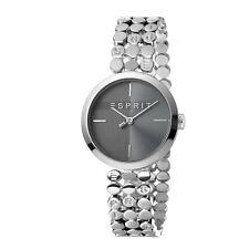 ESPRIT Ladies Watch Watches FREE Bracelet Bliss Black Silver Quartz RRP £129 UK