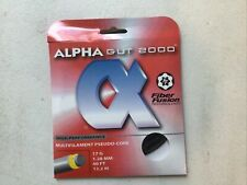 Alpha Gut 2000 17 G Black Tennis Strings
