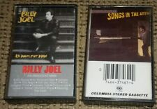 Billy Joel Lot of 2 Cassette tape albums AN INNOCENT MAN/SONGS IN THE ATTIC