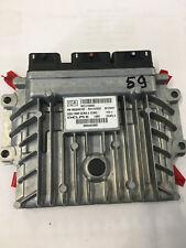 CALCULATEUR PEUGEOT 407 2.0 HDI DELPHI HW9663548180 9664873380 DCM3.4