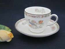 Kaffeetasse mit Untertasse  Wedgwood Kutani Crane Porzellan