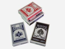 4 Decks Magic Trick Playing Cards - Svengali  Stripper Marked Taper Poker