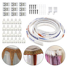 3 Meter Flexible Straight Standard & Bay Window Curtain Track Glider Rail House
