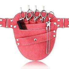 PINK SPARKLE HAIRDRESSING SCISSOR POUCH HOLSTER WAIST BAG