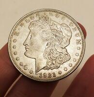 1921-D Morgan Silver Dollar - Last Year Issue 90% Silver