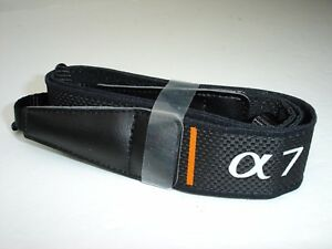 """SONY ALPHA 7 camera neck strap , A7 , 1 1/8"""" Wide,  MINT"""