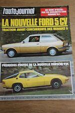 L'Auto-journal n°20 -1975 -FIAT 128 BERLINETTA-RENAULT 16-PORSCHE 924-FORD 5 CV