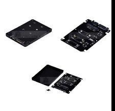 Mini PCIE mSATA SSD auf 2.5'' SATA3 Adapter Converter Karte Abdeckung 7mm 4T24