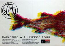 FISH - MARILLION - 1999 - Tourplakat - Concert - Raingods with Zip - Tourposter