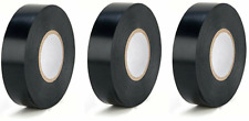 Super Tape Utility Electrical Vinyl Tape Black 7 Mil 34x60 3x Rolls Ul Listed