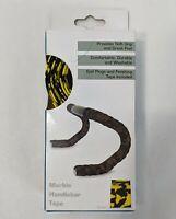 Forte Black Yellow Marble Cork Handlebar Tape New Bike Grip