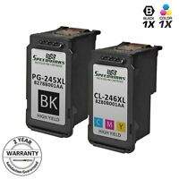 2pk PG-245XL Black & CL-246XL Color Ink for Canon PIXMA iP2820 MG2420 MX492