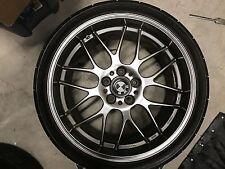 "BBS RG-R 19"" Set, 19x8.5 ET25 Front, 19x10 ET38 Rear, for BMW, with Potenza RE11"