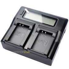 Dual LCD Fast Quick Charger Nikon EN-EL20 EN-EL22 EN-EL24 MH-27 MH-29 MH-31 J5 1