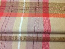 John lewis faux wool  Check fabric made to measure roman blind