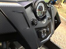 Carbon Fiber Finish Dash Kit : fits Polaris RZR 570 800 900