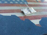.999 Silver Hand Poured Bullion Tank 4 Ounces
