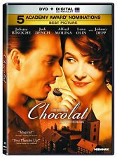 Chocolat (dvd) NEW!!!FREE FIRST CLASS SHIPPING