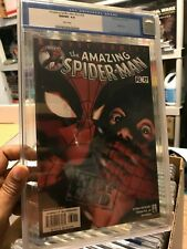 Amazing Spider-Man #v2 #39 (2002) (#480) Silent Issue CGC 9.8 WHITE PAGES