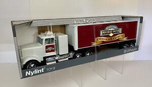 Vintage Nylint USA Rocky Mountain Chocolate Factory Steel Semi Truck NIB SHARP!